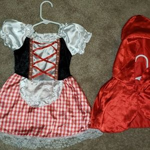 Other - Little miss riding hood sz 2-4t costume